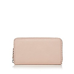 The Collection - Pale pink scalloped purse