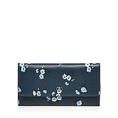 The Collection - Blue floral print purse