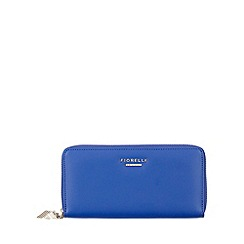 Fiorelli - Cyan Blue City Large Zip Around Purse