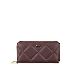 Fiorelli - Aubergine City Large Zip Around Purse