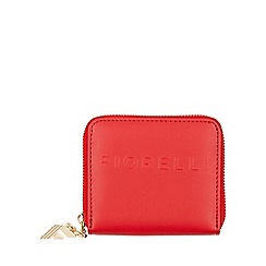 Fiorelli - Red Logo Large Zip Around Purse