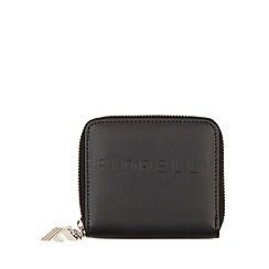 Fiorelli - Black Logo Large Zip Around Purse