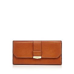 Fiorelli - Tan 'Minnie' large flapover purse