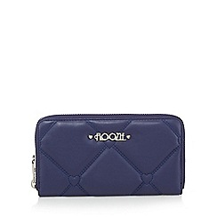 Floozie by Frost French - Navy heart quilted large purse