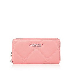 Floozie by Frost French - Light pink heart quilted large purse