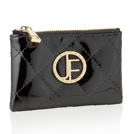 Jack French - Black 'burlington' quilted coin purse