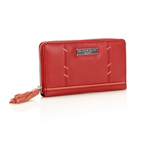 Bailey & Quinn - Red leather large +audley+ purse
