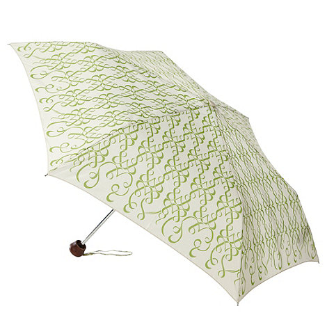 Bailey & Quinn - Cream +ribbon+ printed umbrella
