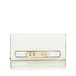 J by Jasper Conran - White medium foldover purse
