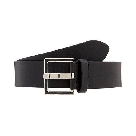 The Collection - Black essential trouser belt