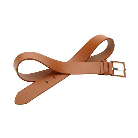 The Collection - Tan essential trouser belt