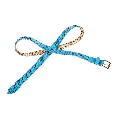 Red Herring - Blue weave belt
