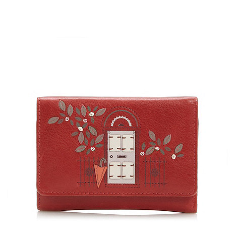Bailey & Quinn - Red leather +new picture+ medium flapover
