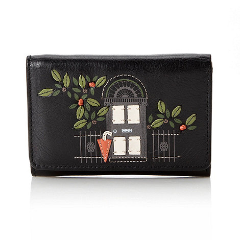 Bailey & Quinn - Black leather +new picture+ small flapover purse