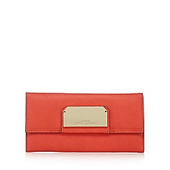 Star by Julien Macdonald - Red textured flap over wallet