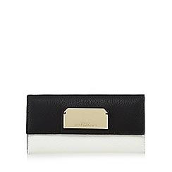 Star by Julien Macdonald - Black textured flap over wallet