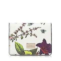 Star by Julien Macdonald - White floral print card holder
