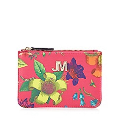 Star by Julien Macdonald - Pink floral print coin purse