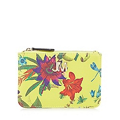 Star by Julien Macdonald - Yellow floral print coin purse