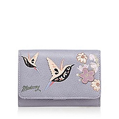 Mantaray - Lilac hummingbird applique medium purse
