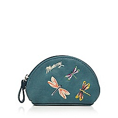 Mantaray - Turquoise dragonfly coin purse
