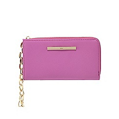 Red Herring - Pink three compartment wristlet bag