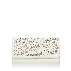 RJR.John Rocha - White large foldover purse