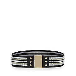 Red Herring - Black striped belt