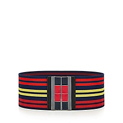 Red Herring - Multicoloured sports stripe belt