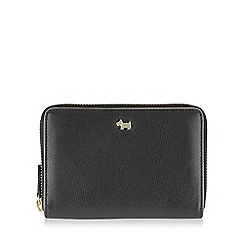 Radley - Medium black leather 'Blair' zip around purse