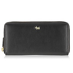 Radley - Large black leather 'Blair' matinee purse