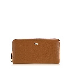 Radley - Large tan leather 'Blair' matinee purse