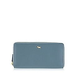 Radley - Large blue leather 'Blair' matinee purse