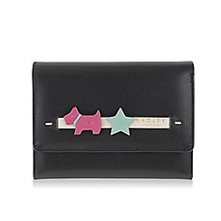 Radley - Medium black leather 'Charm' purse