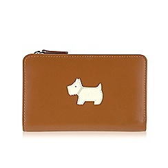 Radley - Medium black leather 'Heritage Dog' purse