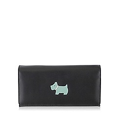 Radley - Large black leather 'Heritage Dog' matinee purse