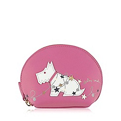 Radley - Small pink leather 'In Lights' coin purse