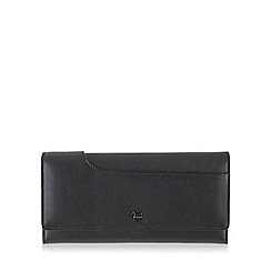 Radley - Large black leather 'Pocket Bag' matinee purse