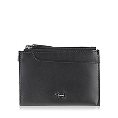 Radley - Small black leather 'Pocket Bag' purse