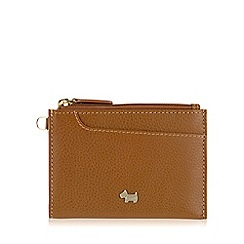 Radley - Small tan leather 'Pocket Bag' purse