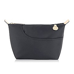 Radley - Medium black nylon 'Pocket Essentials' cosmetic case