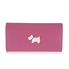 Radley - Large pink leather 'Heritage Dog' matinee purse