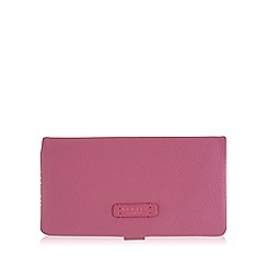 Radley - Large pink leather 'Tetbury' matinee purse