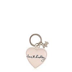 Radley - Pale pink 'Love Radley' keyring