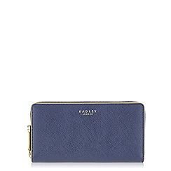 Radley - Navy Arlington Street large around matinee purse