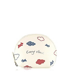 Radley - Ivory 'Every Cloud' small coin purse