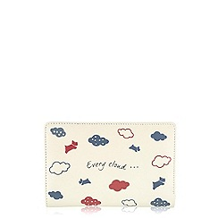 Radley - Ivory 'Every Cloud' medium zip purse