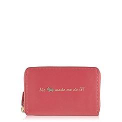 Radley - Pink 'Excuses, Excuses' medium zip purse