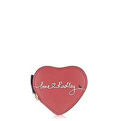 Radley - Pink 'Love Radley' small heart purse