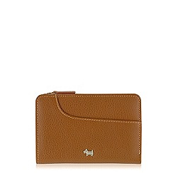 Radley - Tan Pocket Bag medium zip purse